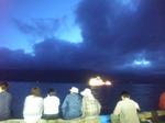 船ライトアップ